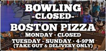 Bowling Closed