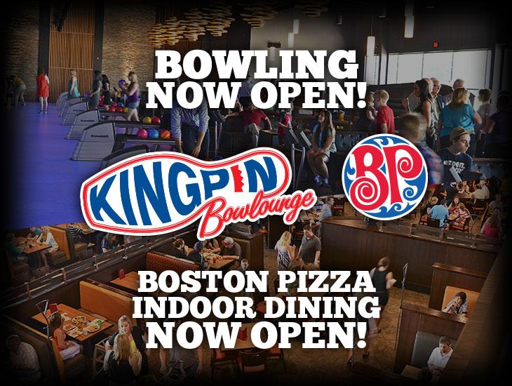 Bowling & Boston Pizza Open