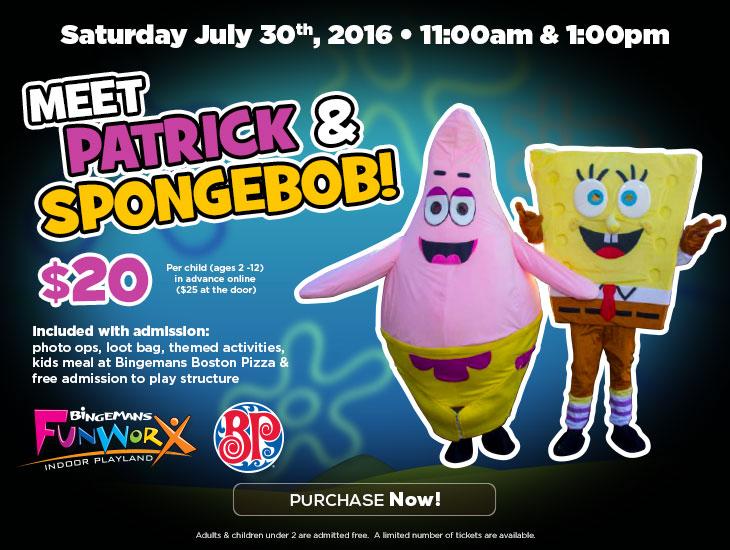 Meet SpongeBob & Patrick