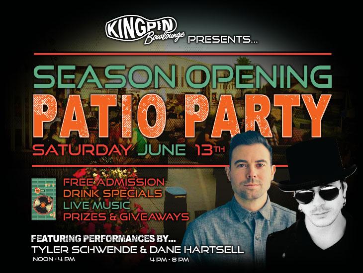Season Opening Patio Party