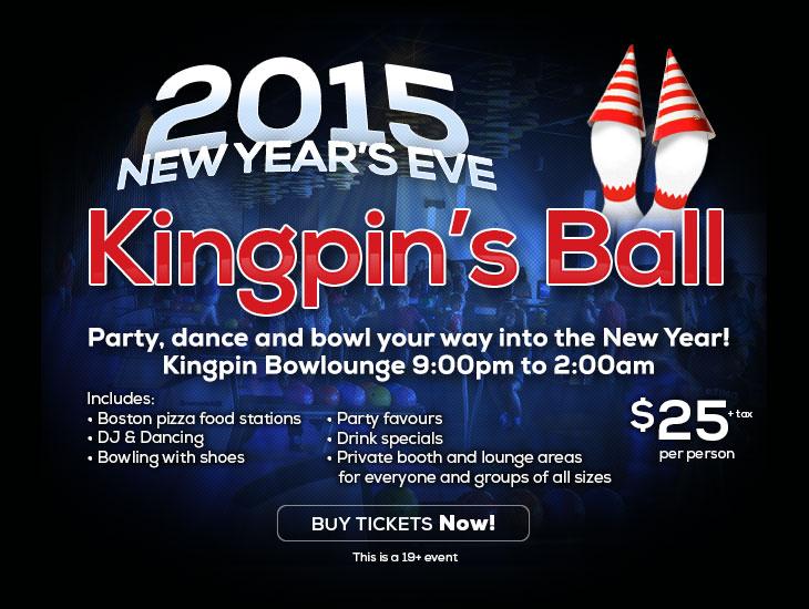 New Year's Eve 2015 - Kingpin's Ball